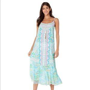 NWT Lilly Pulitzer Winni Midi Dress Size Small